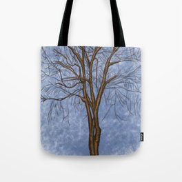 The Twisted Tree Tote Bag