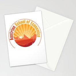 Capitalism Economics Stationery Cards