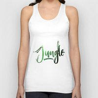 jungle Tank Tops featuring Jungle by Insait
