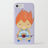 thundercats iPhone & iPod Cases featuring A Boy - Lion-O (Thundercats) by Christophe Chiozzi