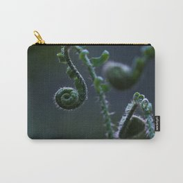 Unfurling Ferns Carry-All Pouch