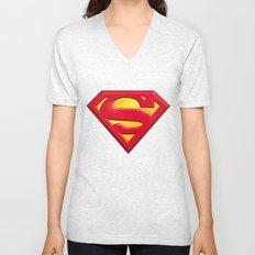 Superman logo Unisex V-Neck