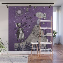 When the Little Prince came to Iceland Wall Mural
