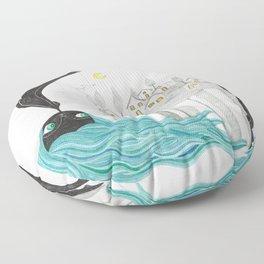 Balada nocturna- Noche Floor Pillow