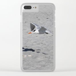 Sammy Seagull Clear iPhone Case