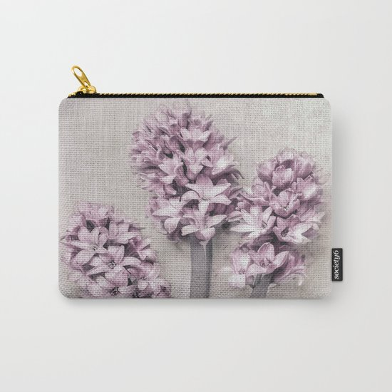 Beautiful Pink Hyacinths Carry-All Pouch
