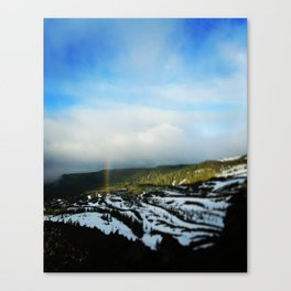 Rainbow on St.Helens Canvas Print