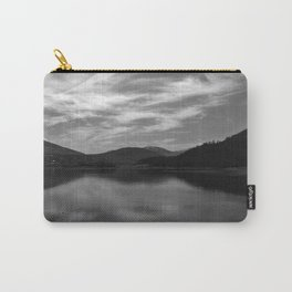 View over the Loch b/w Carry-All Pouch