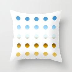 twentyfive dots o3 Throw Pillow