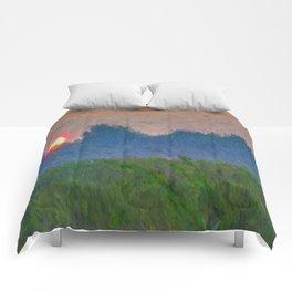 Morning Meadow Comforters