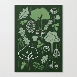 Oak Treasure Canvas Print