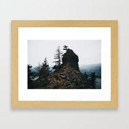 Indian Point Framed Art Print