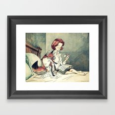 The F. o. x-Files  Framed Art Print