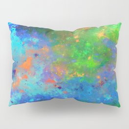 Speed Of Light - Abstract space painting Pillow Sham