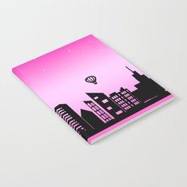 City Skyline Pink Dream Notebook