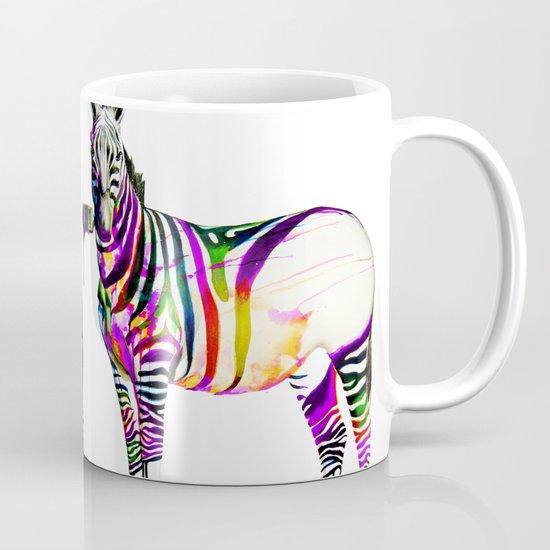 zebra painting Coffee Mug
