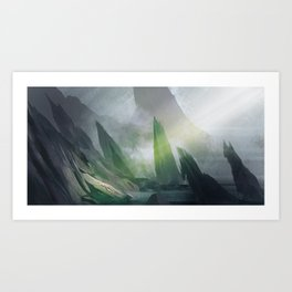 Breathing Place Art Print