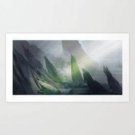 Breathing Place Art Print