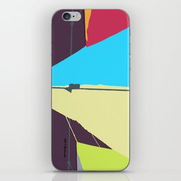 Kite—Aubergine iPhone Skin