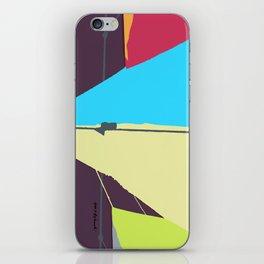 Kite—Aubergine iPhone Skin