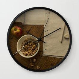School Morning Wall Clock