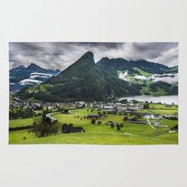 Schwyz Valley And Lauerzersee - Switzerland Rug