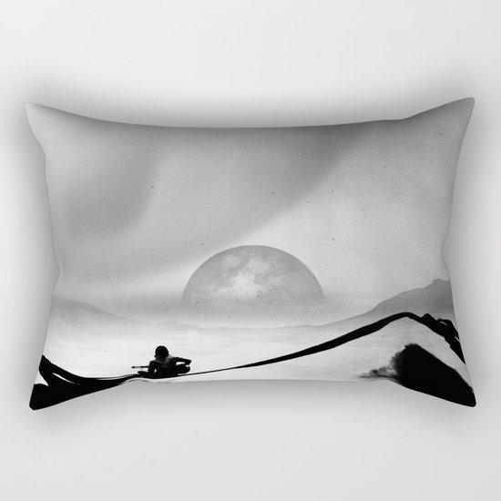 Black Space Song Rectangular Pillow