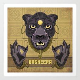 Bagheera Art Print