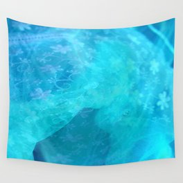 ghost in the swimming pool #003 Wall Tapestry