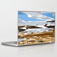 iceland Laptop & iPad Skins featuring iceland by Matthias Hennig