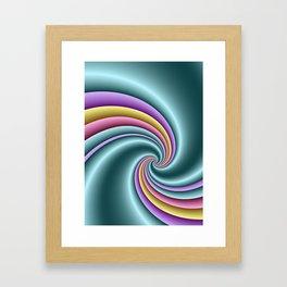 fluid -82- Framed Art Print
