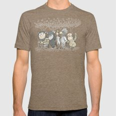 The Mild Rumpus LARGE Tri-Coffee Mens Fitted Tee