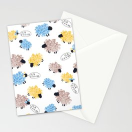 i'll be b-a-a-ack Stationery Cards