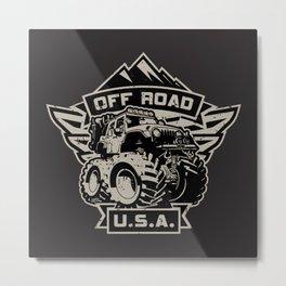 Off Road USA Metal Print