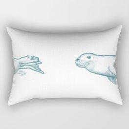 Seal Love Rectangular Pillow