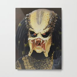 The Predator Metal Print