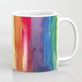 rainbow watercolor Coffee Mug
