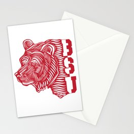 BSU Bear by Anthony Abi-Saad Stationery Cards