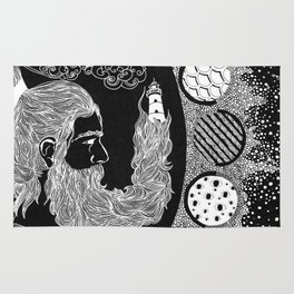 Man on the Moon Rug