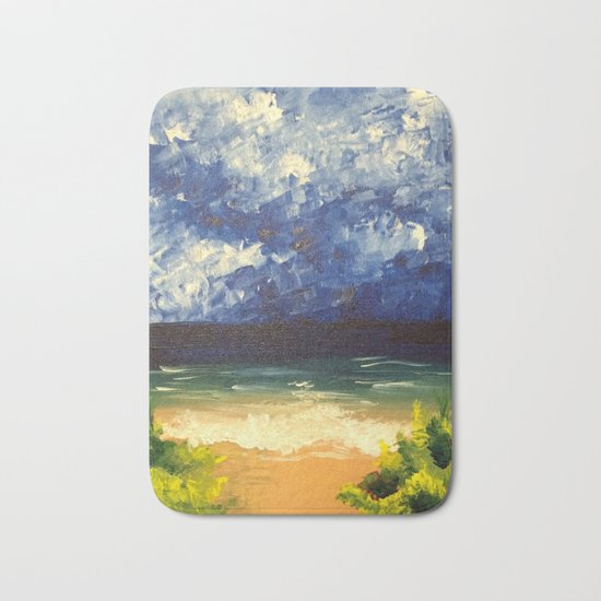 Blue Ocean Bath Mat