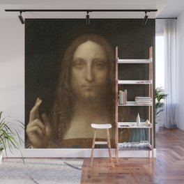 Price Slashed on 450M Leonardo da Vinci Salvator Mundi Wall Mural