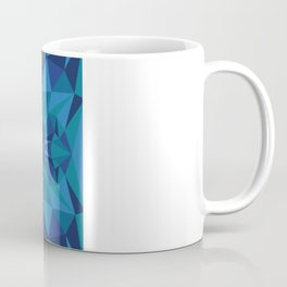 Liger Abstract - Its a Lion Tiger Hybrid Coffee Mug