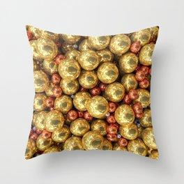 Precious Pearls Throw Pillow