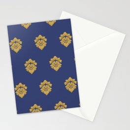 Free Marches (Blue) Stationery Cards