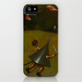 "Hieronymus Bosch ""The Temptation of Saint Anthony"" (Kansas) - detail iPhone Case"