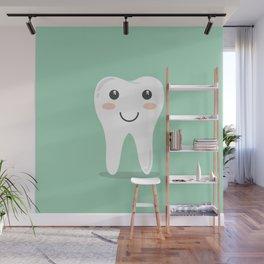 Cute Teeth Wall Mural