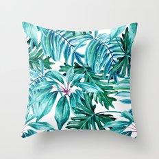 Tropical jungle II Throw Pillow