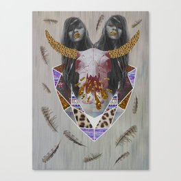 WILDFOX SPARKLE  Canvas Print