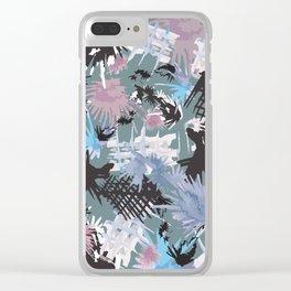 Splish Splosh Splat Clear iPhone Case