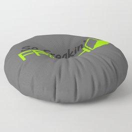 So Freakin' Fresh v4 HQvector Floor Pillow